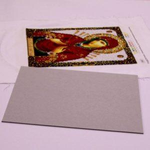 Натяжка вышивки на вспененный (зеркальный) двусторонний скотч