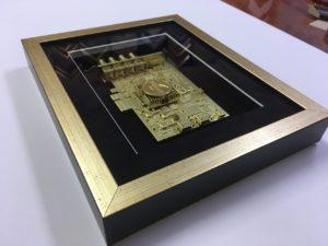3D оформление Микросхемы в багет